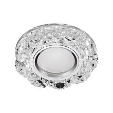 71094 - Inbouwspot CRYSTAL FIX 1xGU10/50W+LED/3W