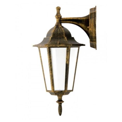 Buiten wandlamp 1xE27/20W/230V patina