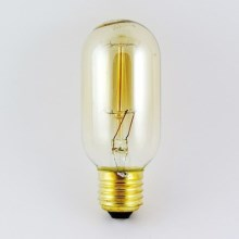Decoratief dimmende lamp VINTAGE T45 E27/40W/230V