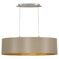 Eglo 31613 - Hanglamp aan koord MASERLO 2xE27/60W/230V