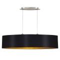 Eglo 31616 - Hanglamp aan koord MASERLO 2xE27/60W/230V