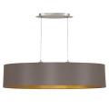 Eglo 31619 - Hanglamp aan koord MASERLO 2xE27/60W/230V