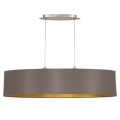Eglo 79102 - Hanglamp aan koord MASERLO 2xE27/60W/230V
