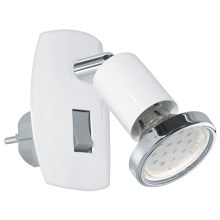 Eglo 92925 - LED Stopcontact lamp MINI 4 1xGU10-LED/3W/230V