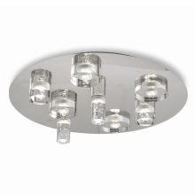 Fabas 3323/65/138 - LED Plafondverlichting BUBBLE 1xLED/40W/230V