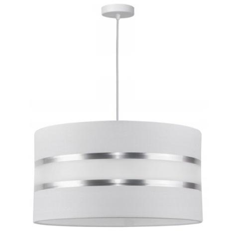 Hanglamp aan koord CORAL 1xE27/60W/230V wit