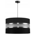 Hanglamp aan koord CORAL 1xE27/60W/230V zwart