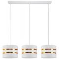 Hanglamp aan koord CORAL 3xE27/60W/230V