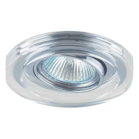 Ingebouwd licht Family 1xGU10/50W chroom/kristallen