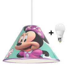 LED Hanglamp aan koord MINNIE MOUSE 1xE27/15W/230V