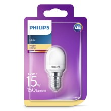LED Koelkastlamp Philips E14/1,7W/230V 2700K