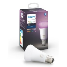 LED Lamp dimbaar Philips HUE WHITE AND COLOR AMBIANCE E27/9W/230V