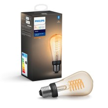 LED Lamp dimbaar Philips HUE WHITE FILAMENT ST64 E27/7W/230V