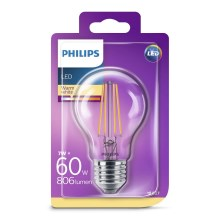 LED Lamp Philips VINTAGE A60 E27/7W/230V 2700K