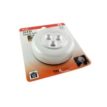 LED Nachtlamp touch LED/0,2W/3xAAA wit