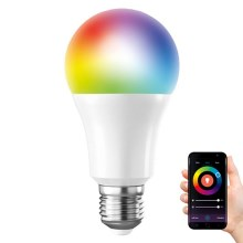 LED RGB Lamp dimbaar SMART WIFI E27/10W/230V
