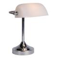 Lucide 17504/01/11 - Tafellamp BANKER 1xE14/ESL 11W/230V