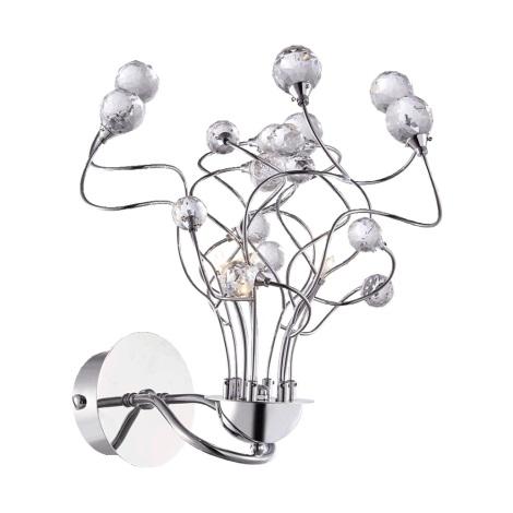 Luxera 1532 - Wandlamp CRYSTAL 3xG4/20W/230V