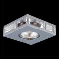 Luxera 71001 - Inbouwlamp ELEGANT 1xGU10/50W/230V