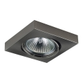 Luxera 71004 - Inbouwlamp ELEGANT 1xGU10/50W/230V