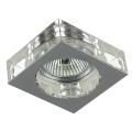 Luxera 71008 - Inbouwlamp ELEGANT 1xGU10/50W/230V