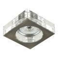 Luxera 71009 - Inbouwlamp ELEGANT 1xGU10/50W/230V