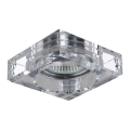 Luxera 71011 - Inbouwlamp ELEGANT 1xGU10/50W/230V