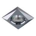 Luxera 71018 - Inbouwlamp ELEGANT 1xGU10/50W/230V