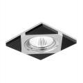 Luxera 71023 - Ingebouwd licht ELEGANT 1xGU10/50W/230V