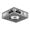 Luxera 71027 - Ingebouwd licht ELEGANT 1xGU10/50W/230V