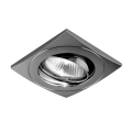 Luxera 71029 - Ingebouwd licht ELEGANT 1xGU10/50W/230V