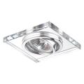 Luxera 71053 - Ingebouwd licht ELEGANT 1xGU10/50W/230V