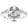 Luxera 71069 - Inbouwlamp ELEGANT 1xGU10/50W/230V