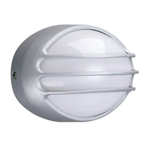 Massive 17090/87/10 - Buiten wandlamp CLEVELAND 1xE27/40W grijs IP44