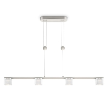 Philips 36763/17/16 - LED Hanglamp MYLIVING TIBRIS 4xLED/4,5W/230V