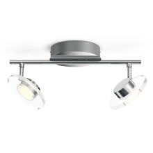 Philips 50442/11/P0 - LED Spotlamp dimbaar MYLIVING GLISSETTE 2xLED/4,5W/230V