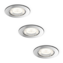 Philips 59008/11/P0 - SET 3x LED Badkamerlamp DREAMINESS 3xLED/4,5W IP65