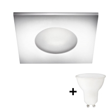 Philips 59910/11/PN - LED Badkamer inbouwspot THERMAL 1xGU10/6W/230V IP44