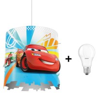 Philips 71751/32/16 - LED Hanglamp aan koord kinderkamer DISNEY CARS 1xE27/8,5W/230V