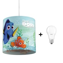Philips 71751/90/16 - LED Hanglamp kinderkamer DISNEY FINDING DORY 1xE27/8,5W/230V