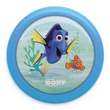Philips 71924/35/P0 - Kinder LED Touch lamp DISNEY FINDING DORY LED/0,3W/2xAAA