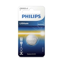 Philips CR2025/01B - Lithium batterij CR2025 MINICELLS 3V