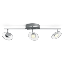 Philips - LED Spotlamp dimbaar 3xLED/4,5W/230V