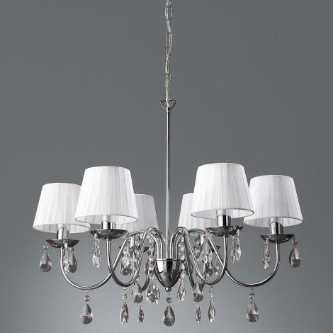 Philips Massive - Hanglamp met vaste pendel NEYO 6x E14 / 40W