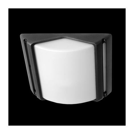 Plafondverlichting buiten CITY 1xE27/60W grijs IP44