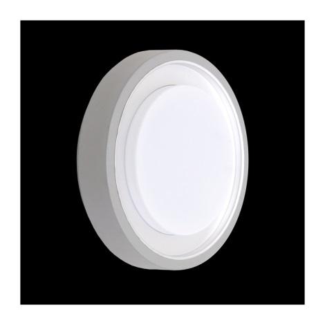 Plafondverlichting buiten ORIGO 1xE27/60W zilver IP54