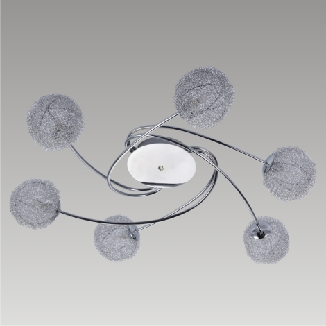 Plafondverlichting MELISSA 6xG9/40W/230V