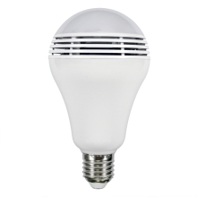 RGB LED Lamp s bluetooth reproduktorem E27/8W/230V