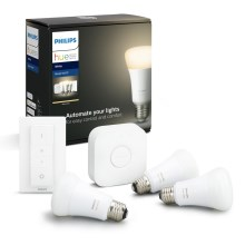 Starterspakket Philips HUE STARTER KIT 3xE27/9W + Bridge