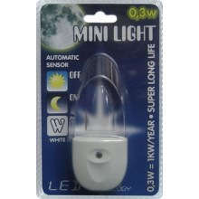 Stopcontact lampje MINI-LIGHT (wit licht)